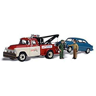 WOODLAND SCENICS AS5524 Wayne Recker's Tow Service HO WOOU5524: Toys & Games
