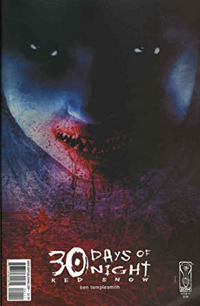 Amazon 30 Days Of Night Red Snow 1 Vfnm Idw Comic Book