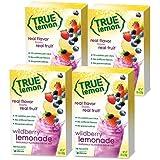 True Lemon WILDBERRY LEMONADE (Pack of 4) 10ct each box. True Citrus