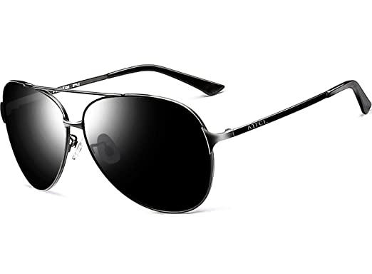 077a3f15c99 ATTCL Men s Hot Classic Polarized Sunglasses For Golf Driving 8009 Black