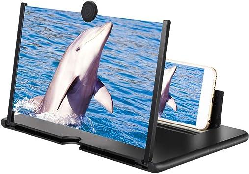 Venga amigos Lupa de Pantalla para Teléfono 3D Amplificador Pantalla Movil Soporte para Todos los Smartphones(12 Pulgadas): Amazon.es: Electrónica