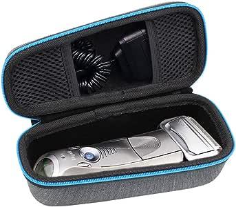 ESCOCO Duro Estuche Viajes Funda Bolso para Braun Series 5 7 9 7898cc 799cc 9090cc 9075cc 5090cc 5050cc 5030S Afeitadora eléctrica: Amazon.es: Salud y cuidado personal