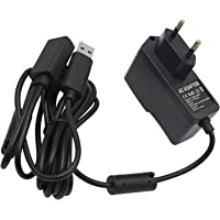 OSTENT EU AC Power Supply Cable Cord Adapter Compatible for Microsoft Xbox 360 Kinect Sensor Camera