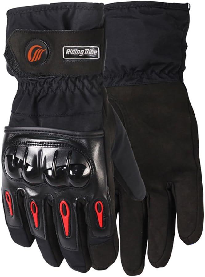 LKN Motorbike Motorcycle Skiing Gloves Winter Warm Touch Screen Gloves Black