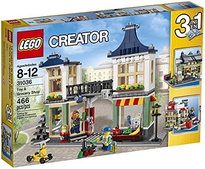 LEGO Creator 31036 חנות מכולת וצעצועים
