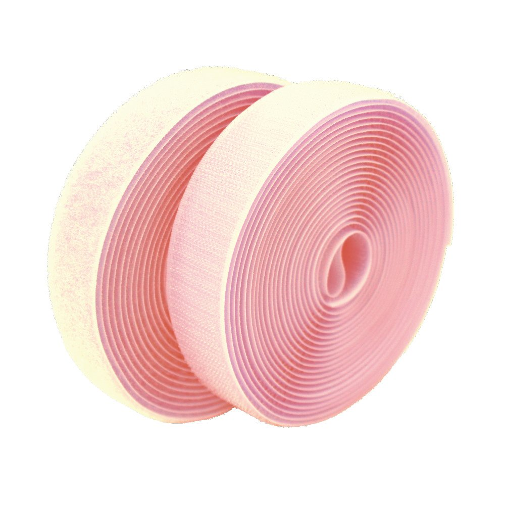 50mm Width(2) Sew-On Loop ONLY Fastener Tape-25 Meters(984.25) for 28 Colors (#010 Ivory) Lovetex