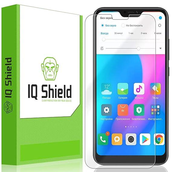 Amazon com: Xiaomi Mi A2 Lite Screen Protector, IQ Shield