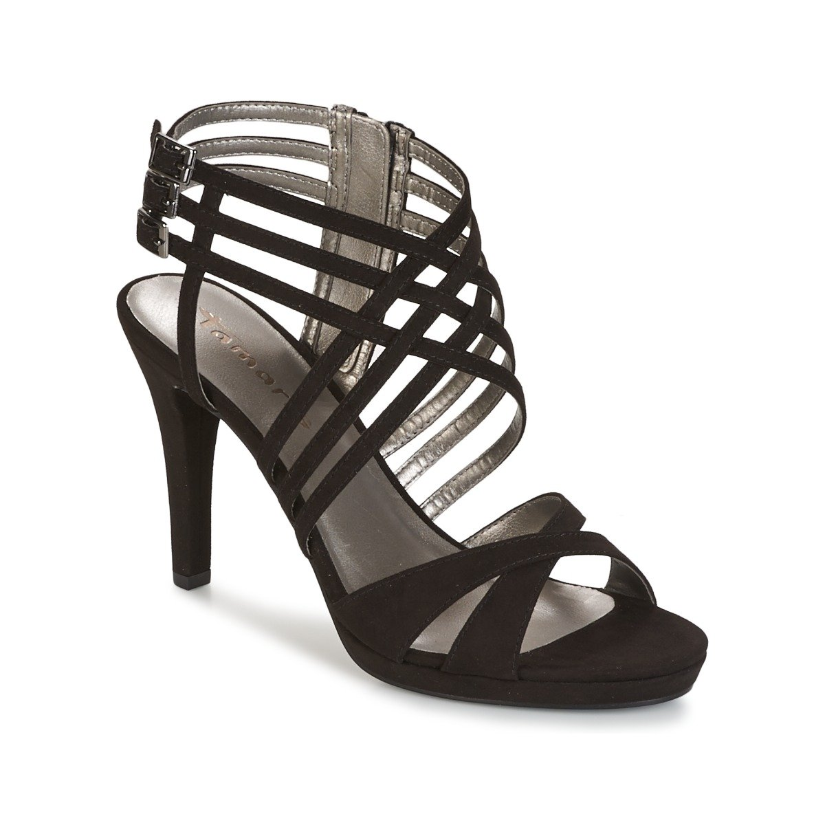 Tamaris Women's 1 1 28032 38 001 Fashion Sandals black black