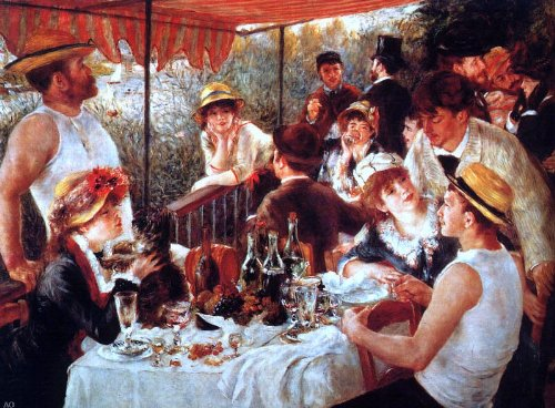 - Pierre Auguste Renoir Boating Party Lunch - 21.05