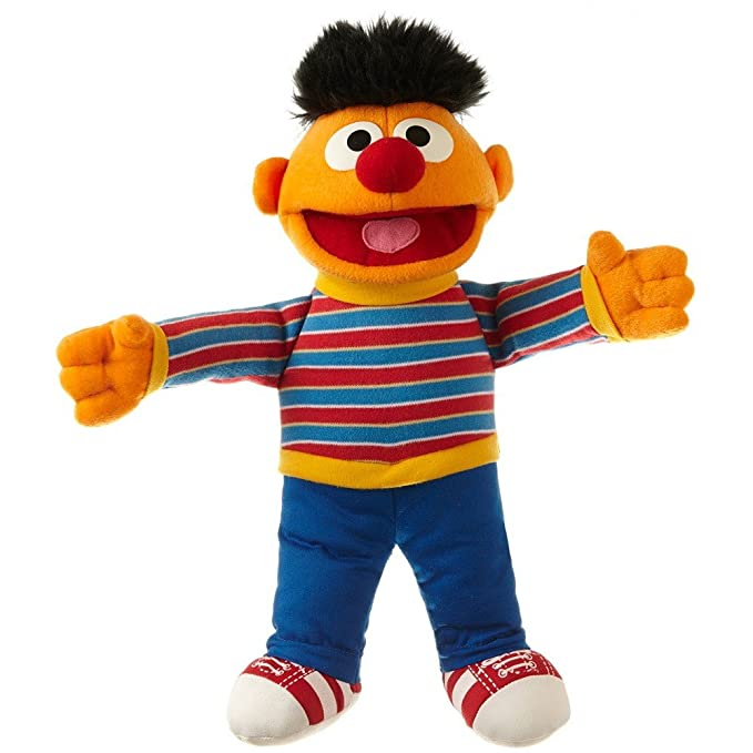 Buy Living Puppets Toy Large Plush Ernie from Sesame Street 33 cm