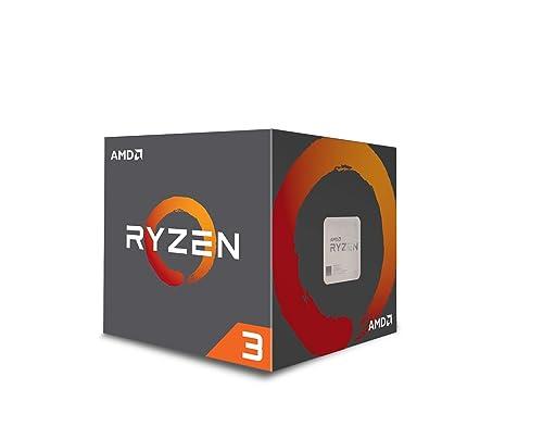 AMD YD1200BBAEBOX YD1200BBAEBOX Ryzen 3 1200 CPU with Wraith Stealth Cooler - Silver