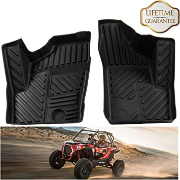Polaris Front All Weather Floor Mats 2014-2019 RZR XP S 4 900 1000 Turbo OEM