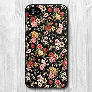 Soft Case, Pattern TPU Black Protective Case For iPhone 5 5S +Free Earphone R21