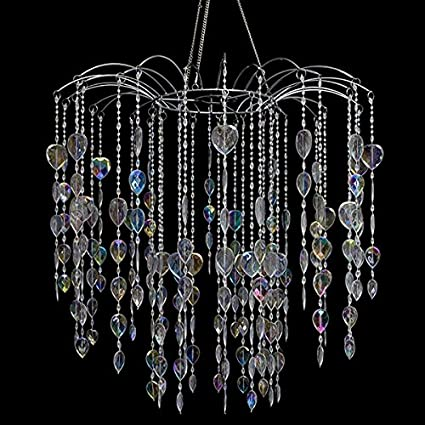Amazon large waterfall crystal chandelier home kitchen large waterfall crystal chandelier aloadofball Gallery