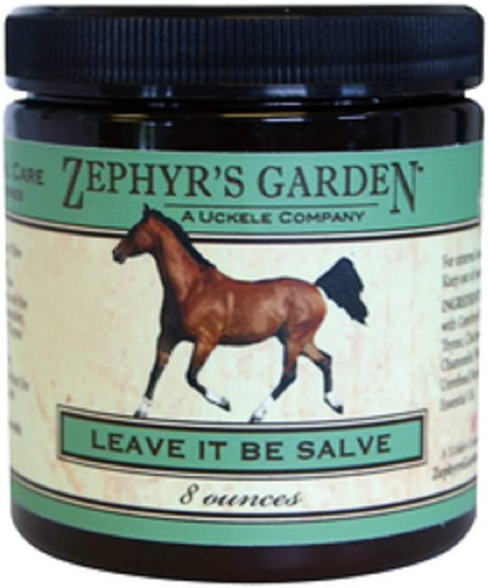 Zephyr's Garden 8 oz Container Leave It Be Salve Heals Skin and Regrows Hair Works Wonders