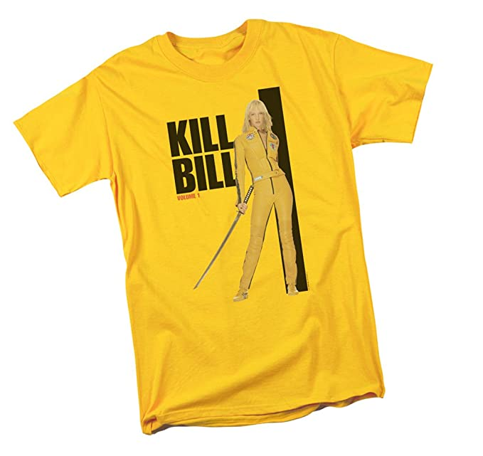 Amazon.com: Kill Bill amarillo traje Póster de la película ...