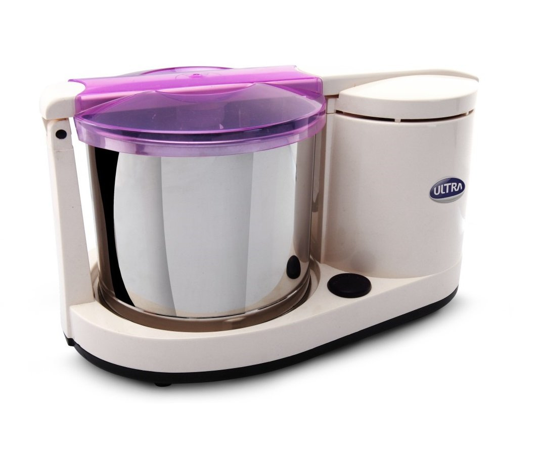 Ultra Dura+ Table Top 1.25L Wet Grinder with Atta Kneader, 110-volt by ULTRA
