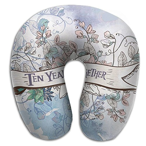 Comfortable Travel Pillow, Master Neck Pillow, A Anniversary Gifts Ten Years Together Memory Foam Pillow For Travel, Home, Neck Pain