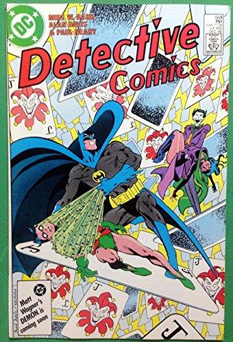 Detective Comics (1937) #569 VF/NM (9.0) Joker Catwoman Robin