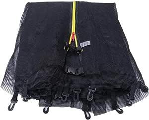 Veiligheidsnet, trampoline, uv-bestendig, trampolinenet, veiligheidsnet, veiligheidskussen voor trampoline, reservet, beschermingsnet voor tuintrampoline