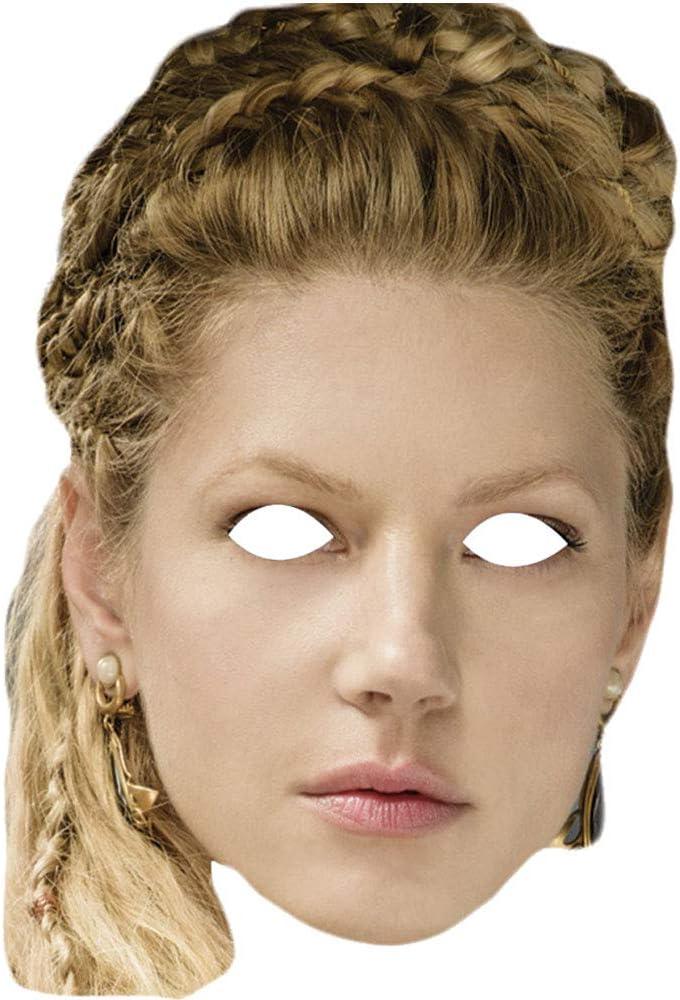 Lord Fox Máscara para el Rostro Katheryn Winnick Lagertha Vikings: Amazon.es: Juguetes y juegos