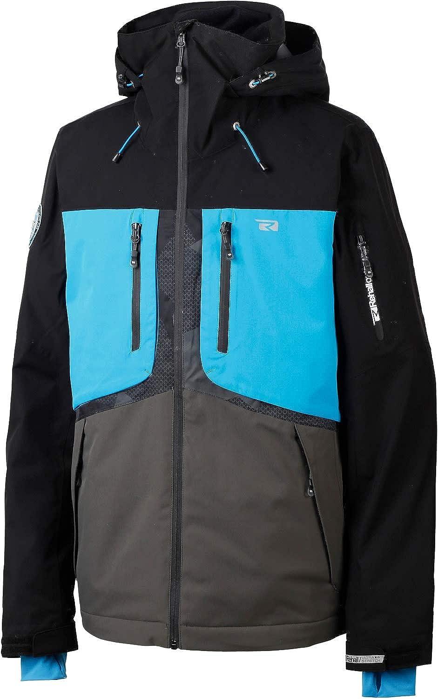 Rehall Halox Snowboard Jacket Mens Sz L Ultra Blue