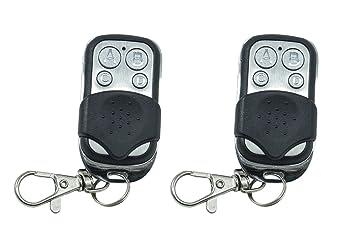 Tiempo 2 mandos universales para Puertas automáticas frecuencia 433,92 MHz A código Fijo: Amazon.es: Electrónica