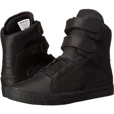 Supra Herren Society Sneaker, SchwarzSchwarz, 51 EU: Amazon