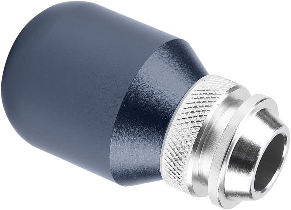 Car Universal Modification Manual Knob Gear Shift Head Shifter Lever Stick Black Aramox Gear Shift Knob