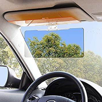 ZHUOTOP HD UV Anti-Glare Auto Car Sun Visor Flip Down Shield Universal Day Night  Vision  Amazon.co.uk  Car   Motorbike c473f5a56a3