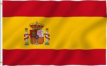 Anley Fly Breeze 90 x 150 cm Bandera España - Colores Vivos y ...