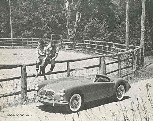 1962 MG MGA 1600 Mark II Brochure