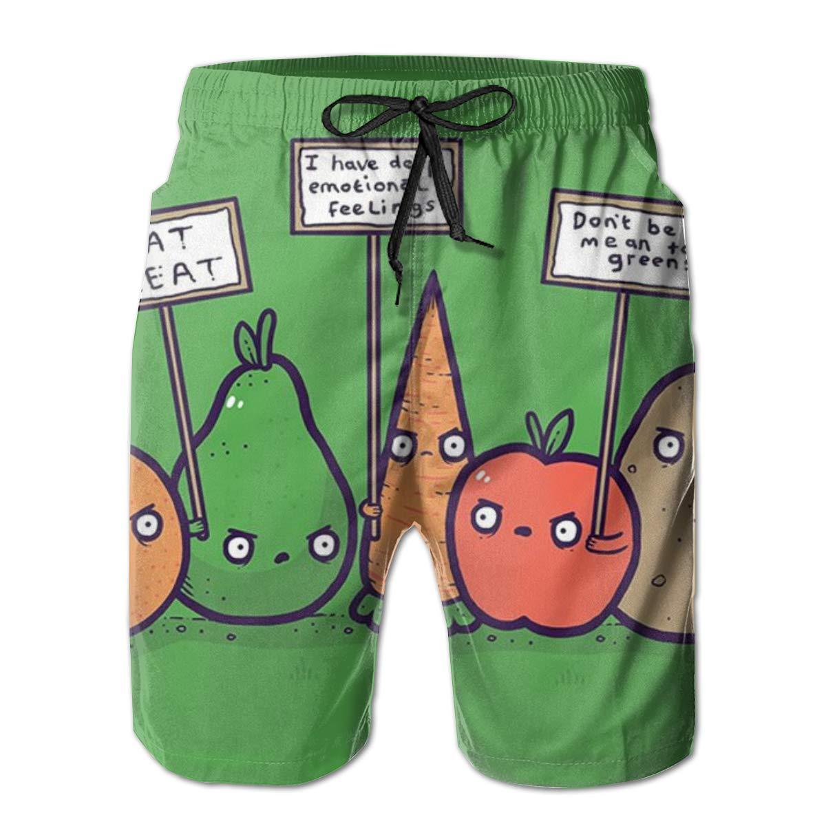 No Hard Feelings Mens Swim Trunks Quick Dry Holiday Beach Short Casual Board Shorts