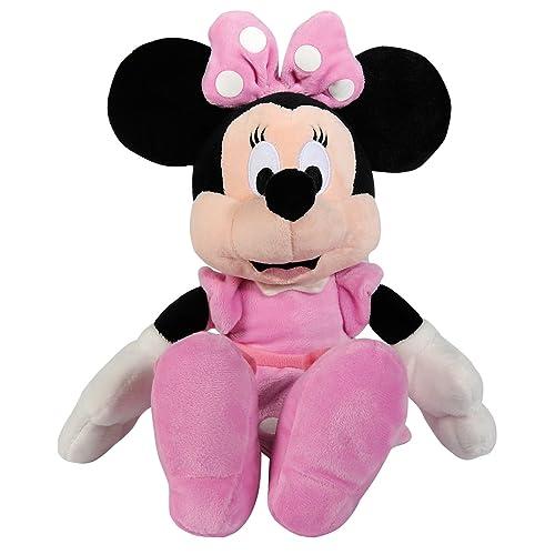 Simba 6315872637 Disney La Casa de Mickey - Peluche de Minnie básico (25 cm)