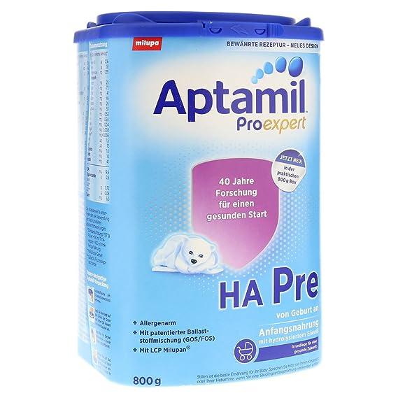 Aptamil HA ProExpert PRE, hipoalergénico Fórmula infantil, EazyPack, 800g