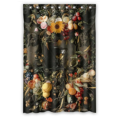Target Tanning - Eyeselect Famous Classic Art Painting Flowers Blossoms Polyester Bathroom Curtains Width X Height / 48 X 72 Inches / W H 120 By 180 Cm For Gf Kids Boys Gf Girls Birthday. Healthy. Fabric