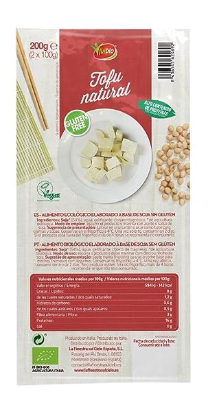 Tofu natural sin gluten BIO - Vivibio - 200gr