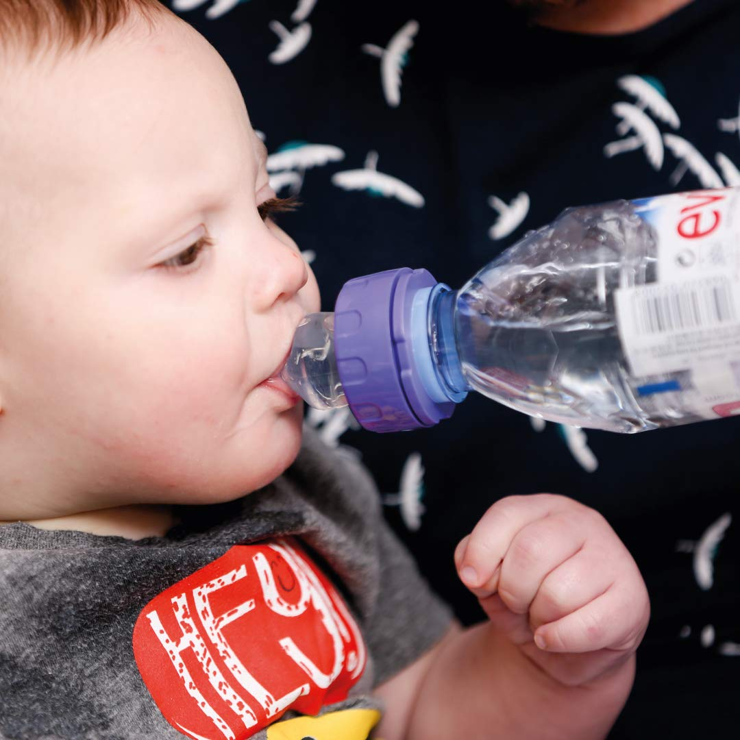 Itsy Guzzler 3-in-1 Drinking Adapter with Sippy Cup Spout