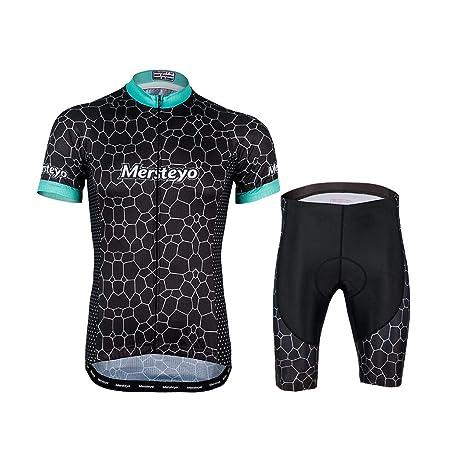 jersey De Ciclismo para Hombre Traje De Ciclismo Conjunto De Manga ...