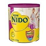 Nestle Nido Kinder Deslactosada Protectus Avanzado De 1-3 Años Leche En Polvo Para Niños, 1.5 Kg, Pack of 1