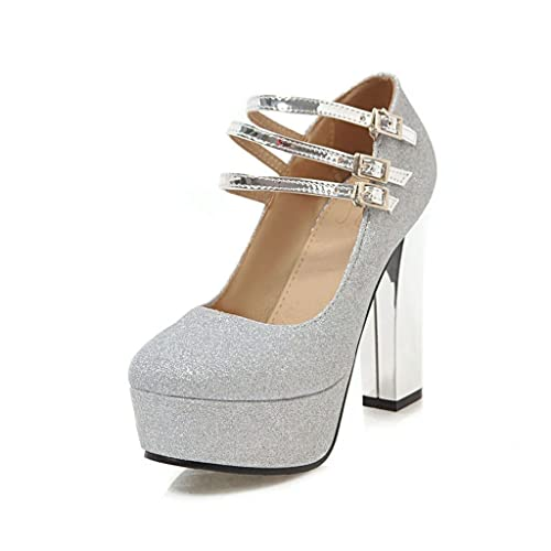 comprare on line eaecf 80e97 Scarpe da Donna Tacchi Alti Plateau Impermeabile Scarpe da ...