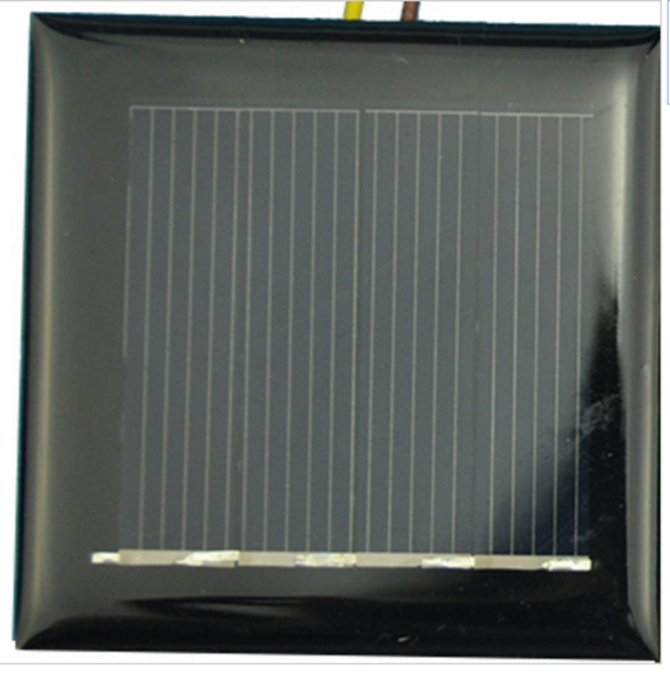 AMX3d 0.5V 100mA 53x18mm Micro Mini Power Solar Cells for Solar Panels DIY Projects Toys
