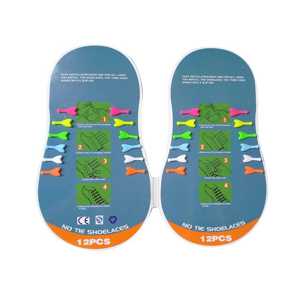 1256612a889ff Wwin Nuevo estilo de silicona no cordones de corbata cordones elásticos  cordones para Adoult Childern conveniente para zapatillas deportivas  zapatillas de ...