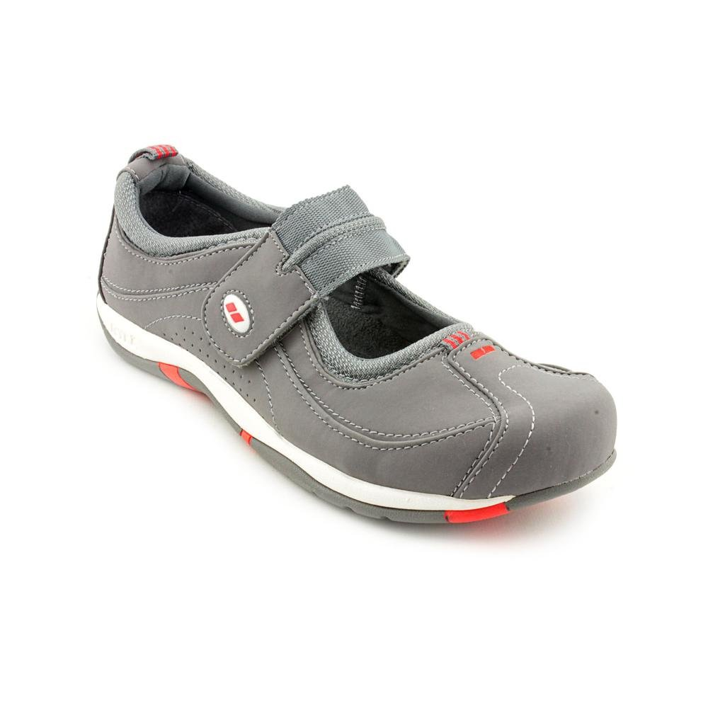 Ryka Sport Comfort Mary Jane Wide Women's Shoes B00GYGVGS4 7.5 C/D US|Gray/White/Red