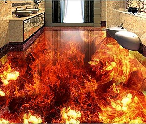ideas de pisos de baño de vinilo Lqwx 3D Personalizadas Suelos Impermeables Para Bao