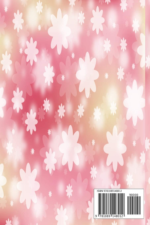 Wonderful flower notebook: Charming flower notebook ...