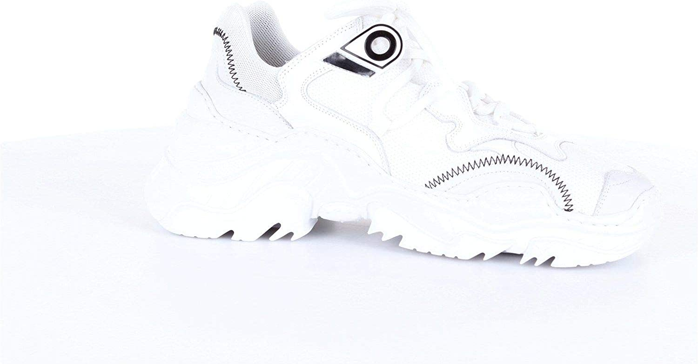 Luxury Fashion | N°21 Hombre 00119SSS0011BIANCO Blanco Zapatillas | Temporada Outlet: Amazon.es: Zapatos y complementos
