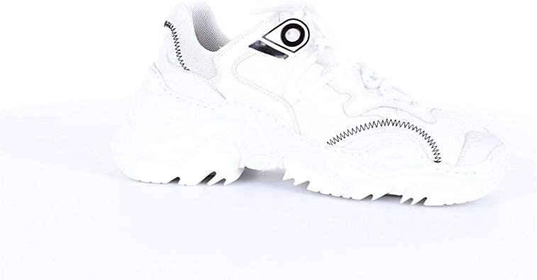 Luxury Fashion | N°21 Hombre 00119SSS0011BIANCO Blanco Zapatillas | Temporada Outlet: Amazon.es: Zapatos y complementos