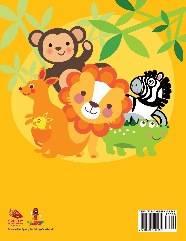 En El Zoológico Bebé Para Colorear Spanish Edition Coloring