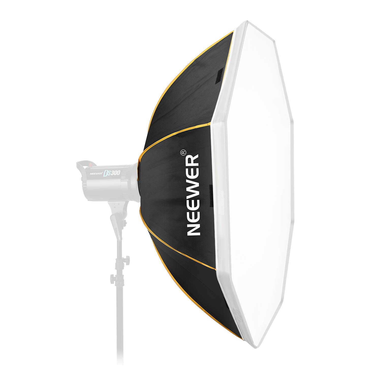 Neewer 36 inches/90 Centimeters Octagon Softbox with Bowens Mount Speedring and Bag Compatible with Studio Strobe Flash Monolight for Portrait and Product Photography by Neewer